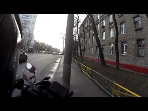 Водятел сбил мотоциклиста