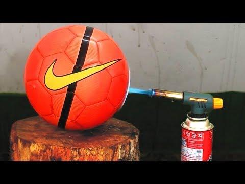 GAS TORCH VS SOCCER BALL VS EGG VS COCA COLA VS TENNIS BALL