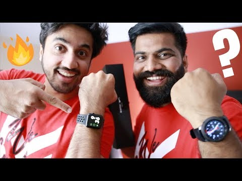 Apple Watch Series 3 Nike+ Edition Unboxing Ft. MumBiker Nikhil