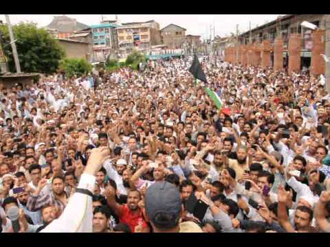 Mirwaiz Umar Farooq stressed upon the world community to stop the Israeli barbarism in Gaza