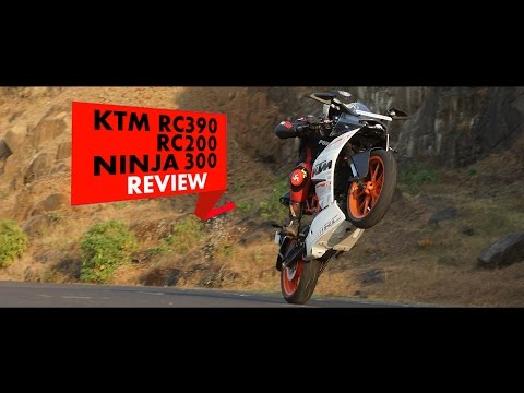 KTM RC390. RC200. Ninja 300: Review: PowerDrift
