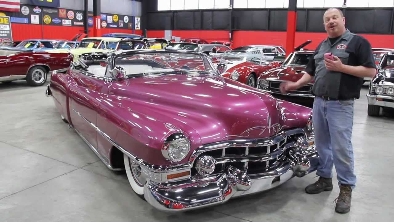 1951 Caddillac Series 62 Convertible Classic Muscle Car For Sale In Mi Vanguard Motor Sales