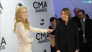 PDA Alert! Keith Urban Gets Cozy With Nicole Kidman at the 2014 CMA Awards