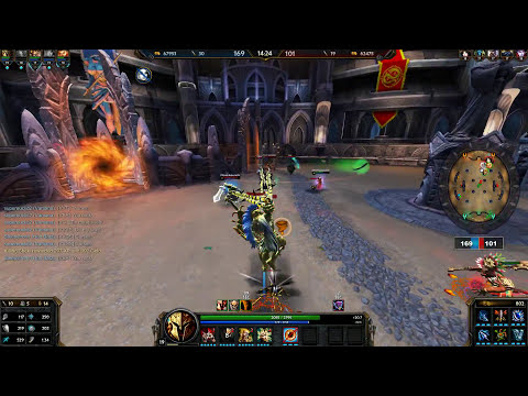 Smite - Ares Gameplay (Arena)