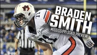Auburn offensive lineman Braden Smith discusses performance in win over Missouri
