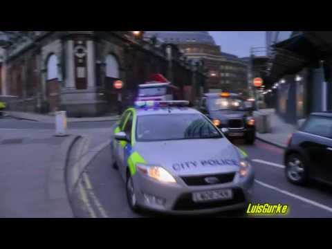 London City Police responding code 3