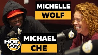 Michael Che & Michelle Wolf GRILL Ebro On Top 50 List, Share FUNNY Prince Story + MAGA Backlash