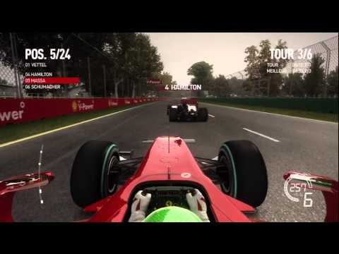 Gameplay F1 2010 Xbox 360 Vid O 1