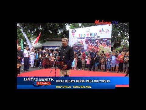 LINTAS BERITA Kirab Jolen dan Ritual Rondo Ngawe (Bersih Desa Kelurahan Mulyorejo Kota Malang 2017)
