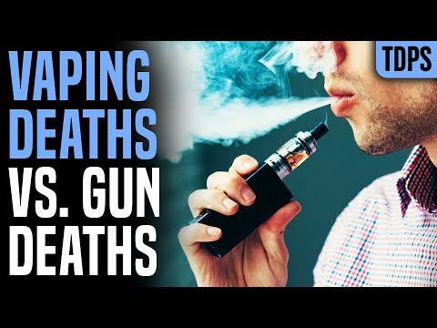 If 6 Deaths = Ban Vaping, What About Guns, Cigs & Alcohol?