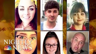 A Mourning Manchester Remembers Suicide Bombing Victims   NBC Nightly News