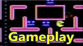 Ms. Pac-Man Atari 7800 Gameplay - The No Swear Gamer