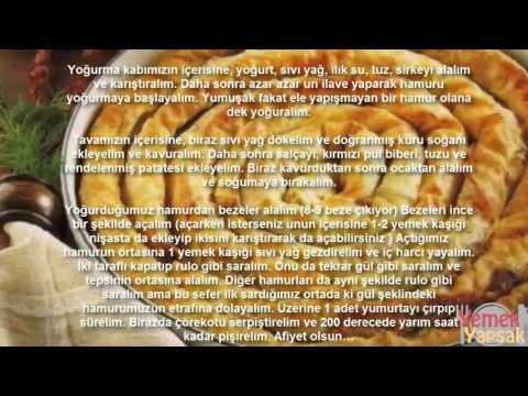 Patatesli kol böreği nasıl yapılır