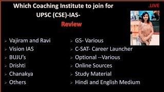 Which Coaching To Join For UPSC And How To Prepare? (Review)