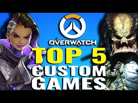 TOP 5 Custom Games YOU NEED TO SEE! [Overwatch]