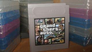 GTA V Gameboy Color | Video Fan