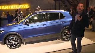 2019 VW Volkswagen T-Cross - First Video Walk Around