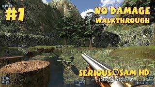 Serious Sam HD: TSE прохождение игры - Уровень 1: Сьерра-Де-Чьяпас (All Secrets + No Damage)