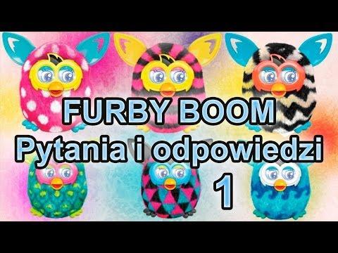 Furby Boom Polski - Questions & Answers / Pytania i Odpowiedzi - Część 1 - www.MegaDyskont.pl