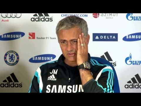 Jose Mourinho pre Chelsea v Leicester