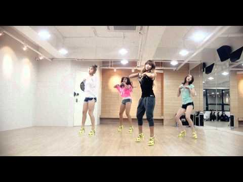 SISTAR_Loving U_Mirrored Dance Practice ver.()
