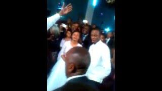 Hailemariam Desalegn's Daugter dancing on her wedding