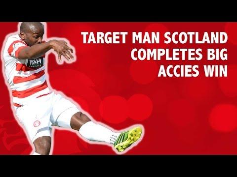Jason Scotland goal completes big win for Accies