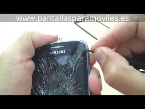 Como Cambiar Pantalla Tactil Samsung Galaxy Core i8260 S Duos i8262 Trocar Disassembly Touchscreen