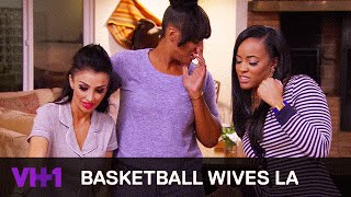 Basketball Wives LA | Jackie Christie Spits On Mehgan James | VH1