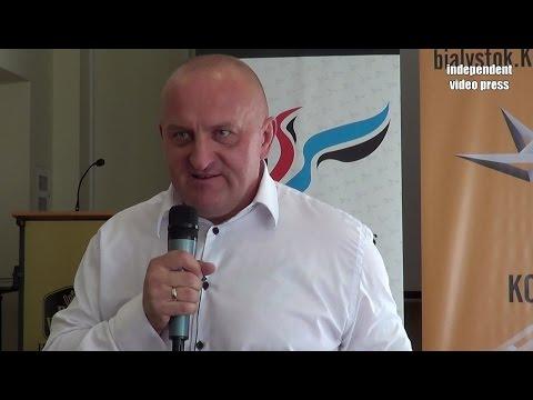 Marian Kowalski W Białymstoku - Mocne I Wzruszające Wystąpienie - 5.06.2016, Białystok