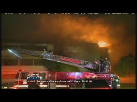 Dallas firefighter killed in six-alarm condo blaze
