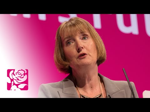 Harriet Harman MP's speech to Labour Conference 2014