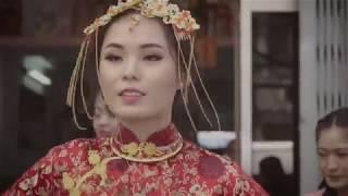 """[MUSIC DANCE] Cô Dâu cute nhảy """"Cô Ba Sài Gòn"""" cực chất"""