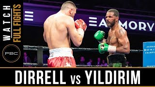 Dirrell vs Yildirim FULL FIGHT: February 23, 2019 - PBC on FS1