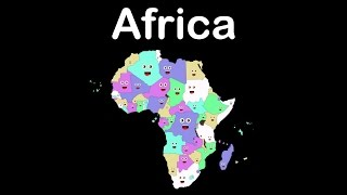 Africa Geography/African Countries Song