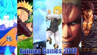 Anime Games of 2018 Hype Trailer