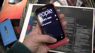 Nokia Lumia 610 Windows Phone 7 Smartphone in Pink Hands on