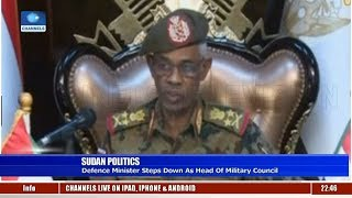 Sudan Defence Minister Steps Down As Head Of Military Council 12/04/19 Pt.3 |News@10|