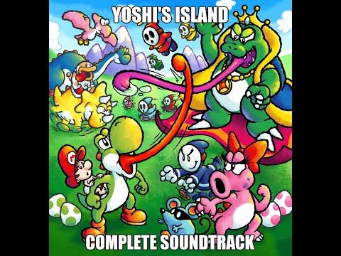 Misc Computer Games - Super Mario World 2 Yoshis Island - Miniboss
