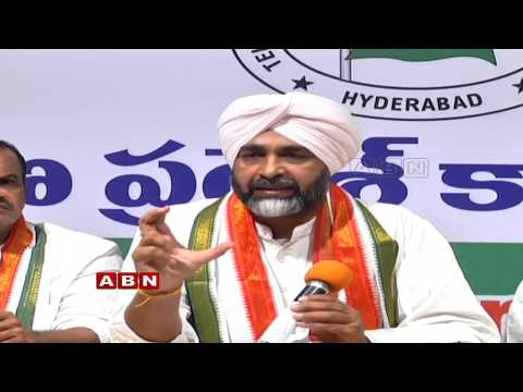 Manpreet Singh Badal Press meet Over Congress manifesto for Telangana elections