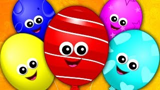 Balloon Finger Family Balloon Song Nursery Rhymes Kids Songs Baby Rhymes