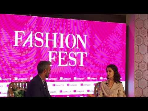 FashionFest de Liverpool en conferencia con Blanca Padilla y la temporada Primavera-Verano