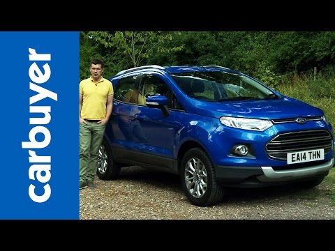 Ford EcoSport SUV 2014 review - Carbuyer