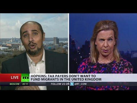 Immigration, Deaths & Rapes: KT Hopkins vs Mo Ansar