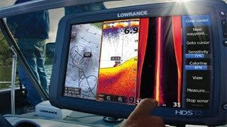 Lowrance HDS 12 Gen2 Review Touchscreen Chartplotter Fishfinder With 50 200KHz Transducer