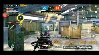 Blue team VS Read team PUBG MOBILE (Pertempuran Cepat) 4vs4