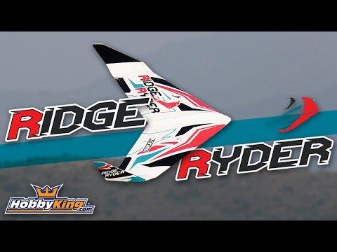 Ridge Ryder Slope Wing - HobbyKing Product Video