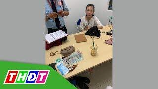 Công an triệu tập cô gái trộm túi xách trong quán nước | THDT