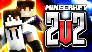 "Minecraft 2v2 Player Vs. Player ""Build UHC"" 