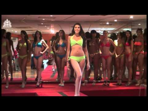Miss Guárico 2012 en Clases de Pasarela